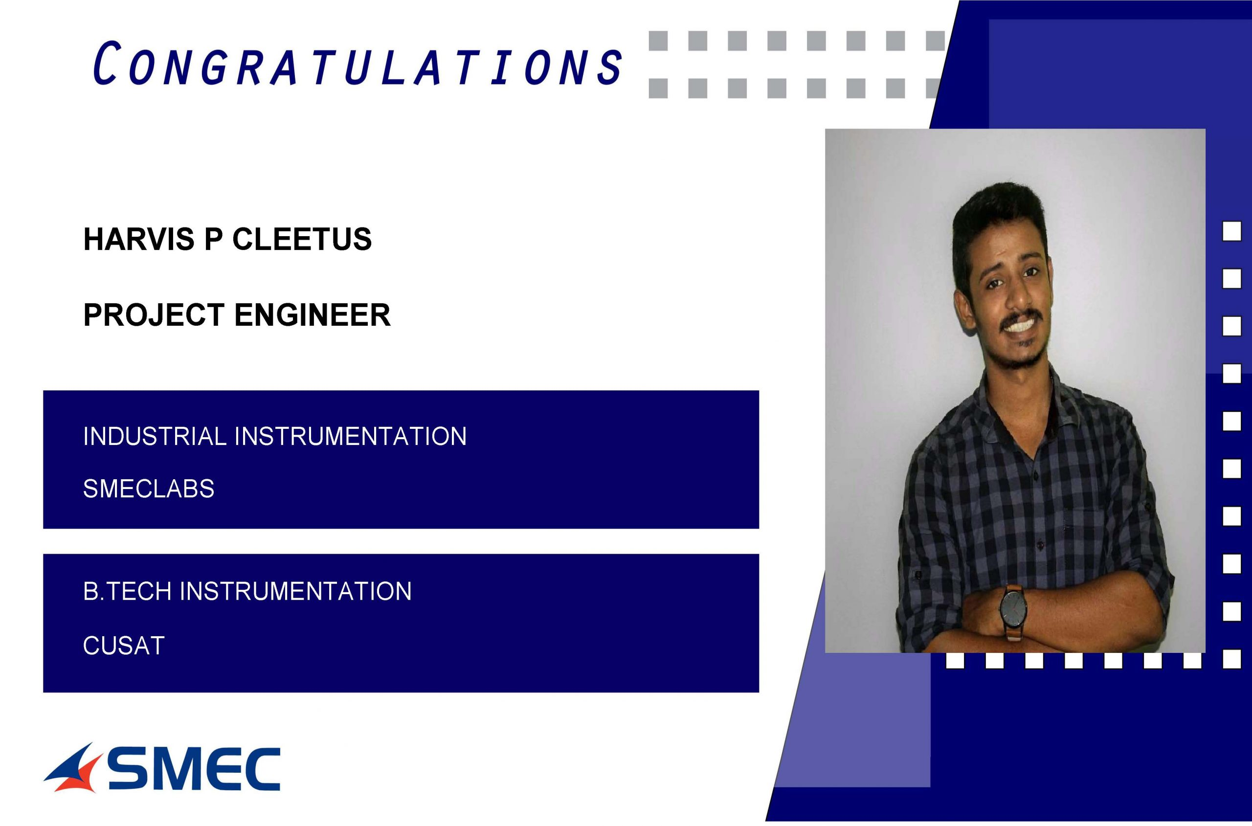 project engineer-harvin p cleetus