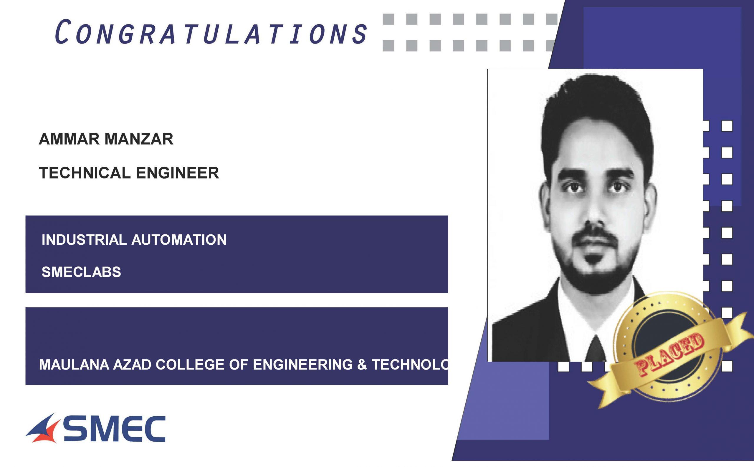 technical engineer-ammar manzar