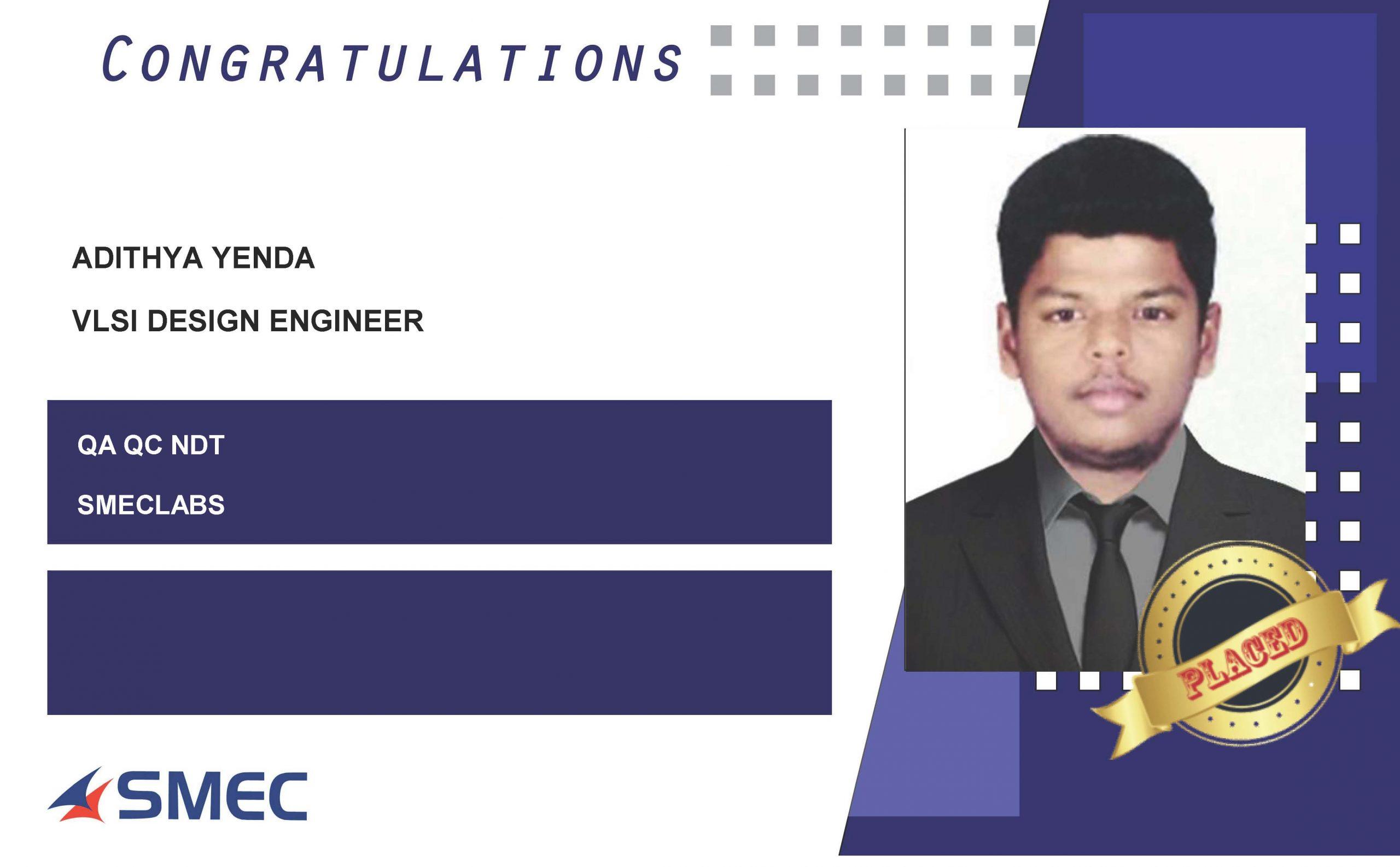 vlsi design engineer - Aditya yenda