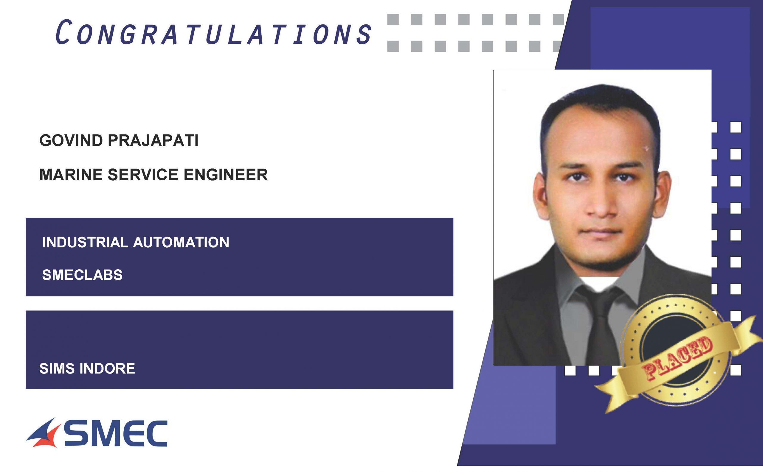 MARINE SERVICE ENGINEER CAREERS-Govind Prajapati