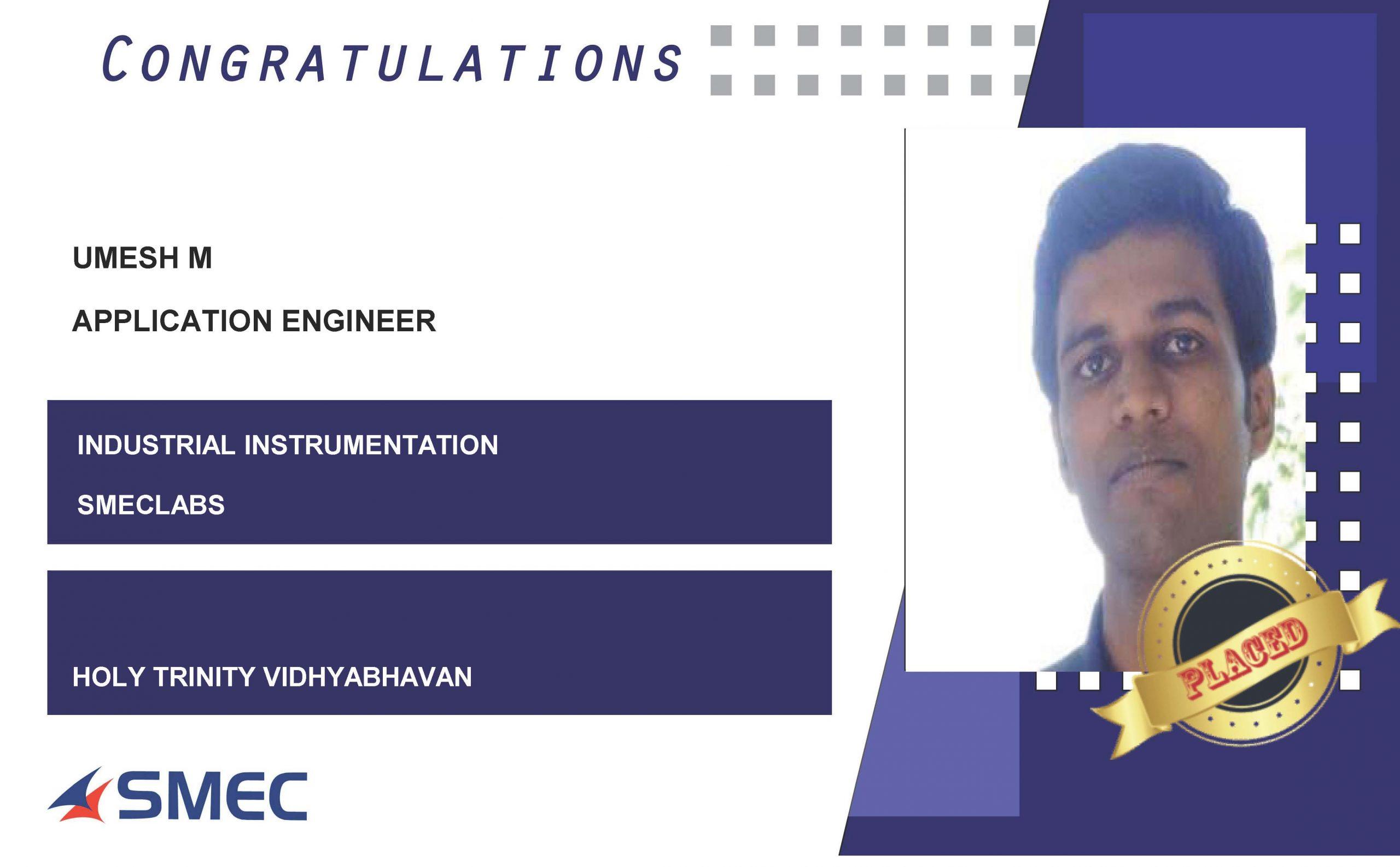 Application engineer- umesh m