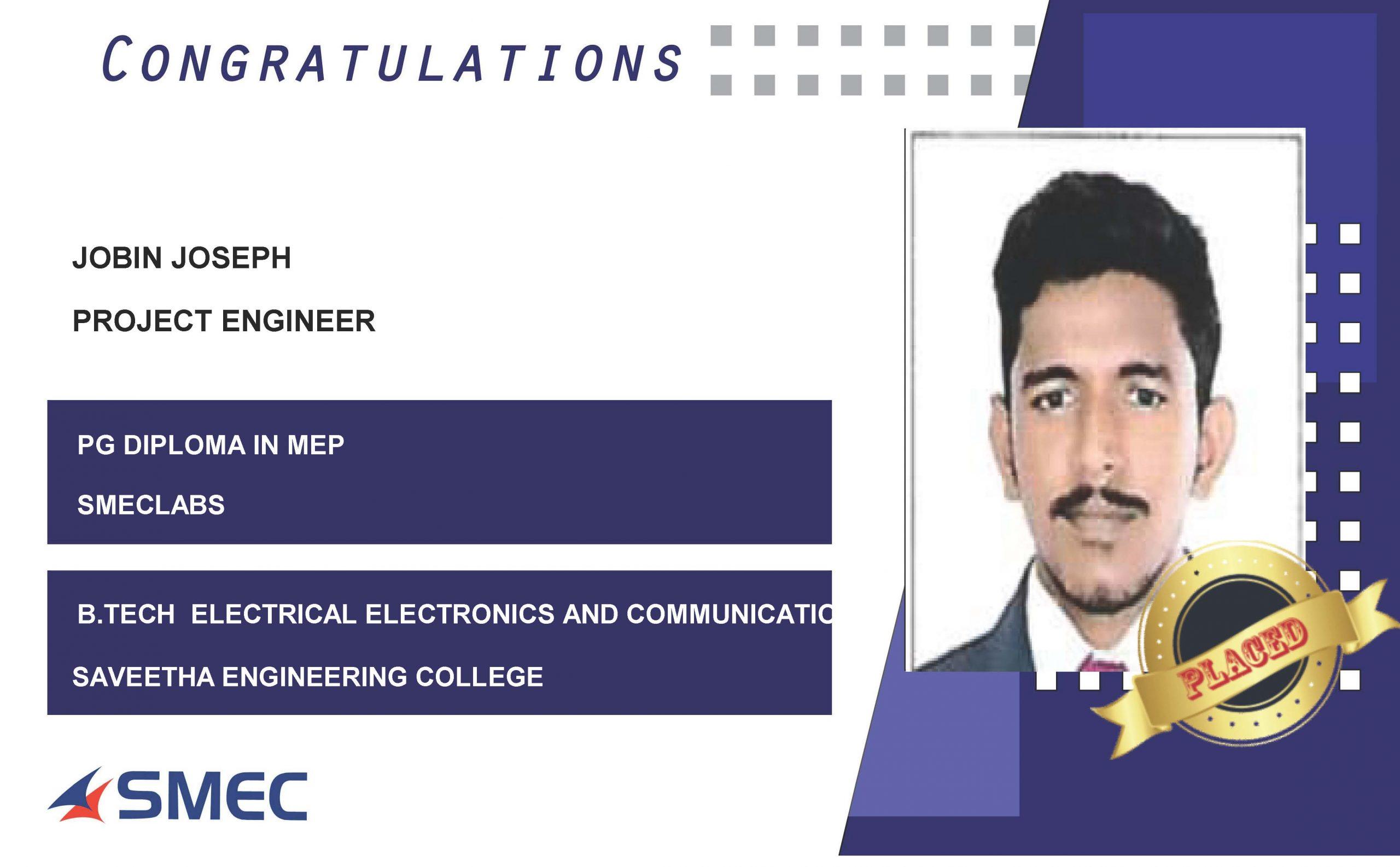 PROJECT ENGINEER-JOBIN JOSEPH
