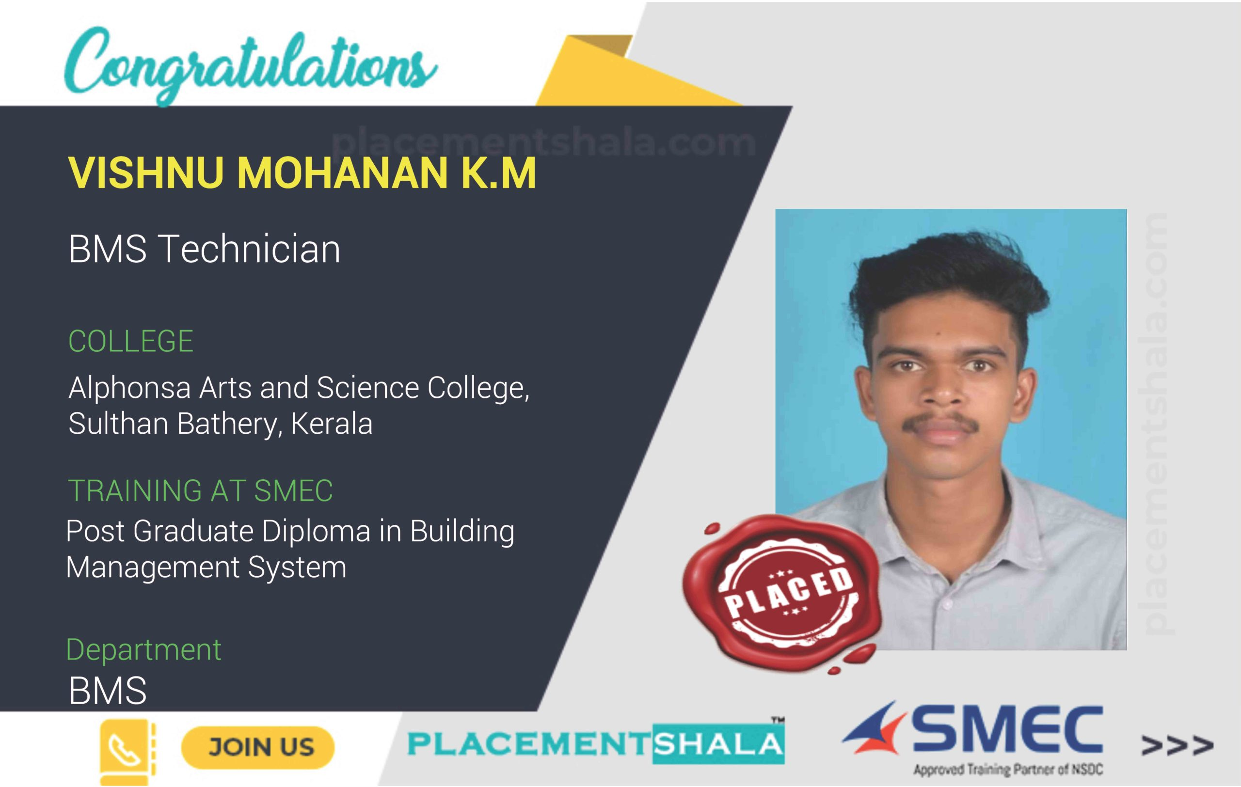 VISHNU MOHANAN K.M